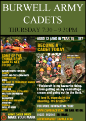 Army Cadets Flyer