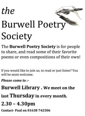 Burwell Poetry Society